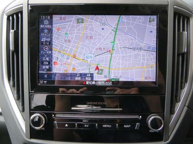 ダイアトーン8インチSDナビTVを装備しております!!