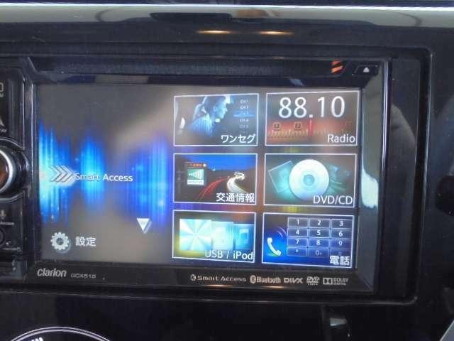ワンセグTV(DVD/CD再生確認済み)。