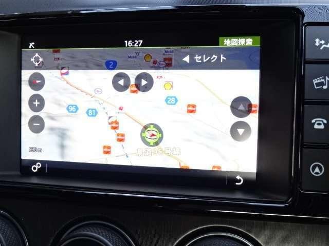フルセグTV内蔵純正ナビゲーション。Bluetoothオーディオにも対応!