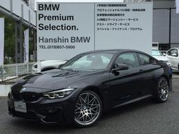 BMW M4クーペ コンペティション M DCT ドライブロジック 専用軽量化シート20AWアダプティブMサス