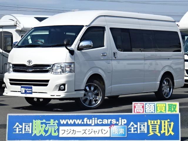☆H23 ハイエース グランドキャビン 4WD トヨタテックス ベッドキット入庫いたしました☆