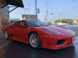 赤い跳ね馬フェラーリ360モデナ、ボディーカラーロッソコルサが入荷しました!フェラーリカスタムにはコストがかかります!これだけカスタムチューニングされたフェラーリはお買い得です!
