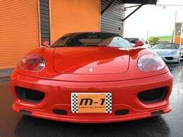 平成15年式(03y)フェラーリ360モデナF1!正規ディーラー車!後期モデル!RSディノフルボディキット付!キダスペシャル可変マフラー!チャレンジグリル付!チャレンジBBS18インチアルミ!