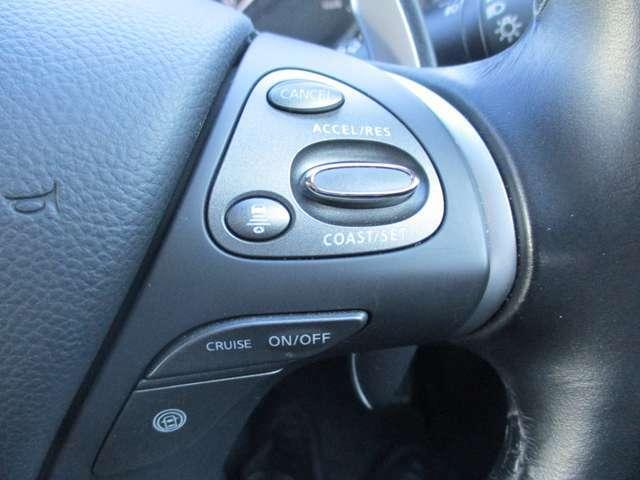 クルーズコントロールで、運転も快適に。