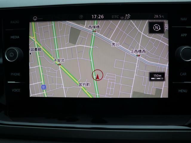 ディスカバーPRO大画面 8インチタッチパネルの高性能ナビには、フルセグTV、CD、DVD、SDカード、Bluetoothの機能を搭載しています。