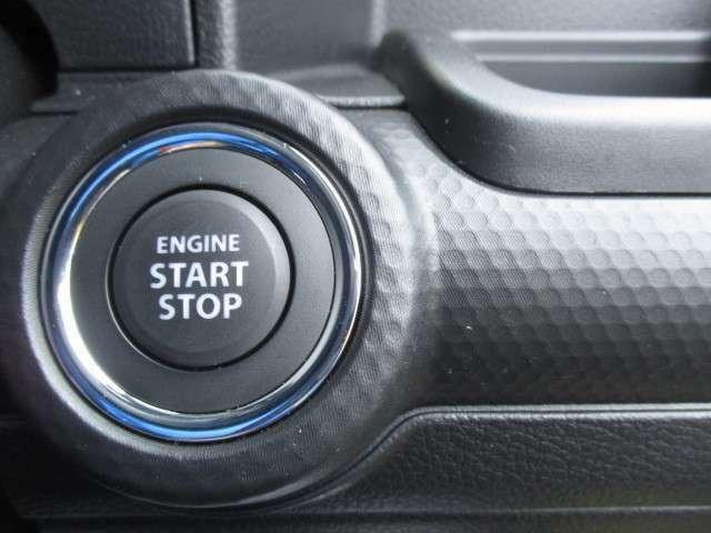 キーを取り出さなくても、エンジンが始動できます!