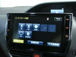こちらの車両はメモリーナビが装備されています。CDを再生して音楽を聴くことができます。また、フルセグTV視聴をすることもできます!