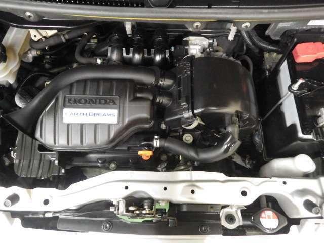整備された綺麗エンジン