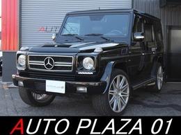 メルセデス・ベンツ Gクラス G500L 4WD 左H サンルーフ 黒革 22インチアルミ