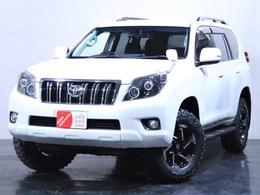 トヨタ ランドクルーザープラド 2.7 TX 4WD 新品ホイール/新品マッドタイヤ/ライト加工