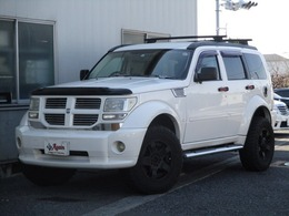 ダッジ ナイトロ R/T 黒革4WD SDナビBカメラWマフラー