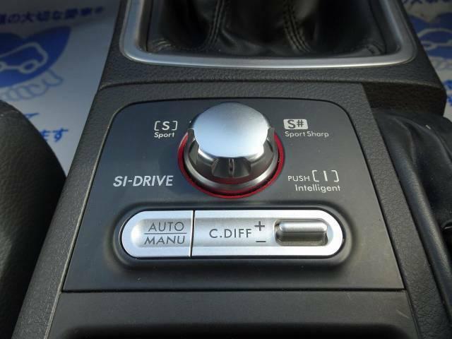 運転者が自らの選択により用途に合わせて3つの異なる走行性能を愉しむことを可能としたシステム【SI‐DRIVE】