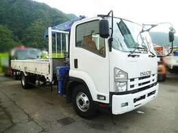 クレーン付きトラック/ユニック車 4ダン ラジコン フックイン 荷台内寸 L540cmxW212cmxH40cm