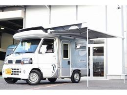 日産 クリッパートラック インディアナRV製 インディ727 ポップアップルーフ FFヒーター シンク