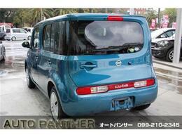 お買得車キューブまたまた入荷しました・純正ナビ&Bモニタ&ETC付き・きれいなスオミブルーです・詳細はHPをご覧下さい!