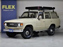 トヨタ ランドクルーザー60 4.0 VX ハイルーフ ディーゼルターボ 4WD 丸目平屋根換装 AT ルーフトップテント