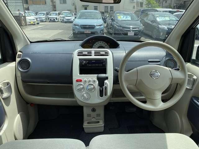 ★車内は広々として、視界良好です♪インパネ周りもスッキリしています♪