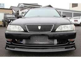 黒に全塗装済みの クレスタ ルラーンG です。 5速マニュアルに載せ替えて、公認済みです。