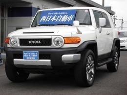 トヨタ FJクルーザー 4.0 カラーパッケージ 4WD ヘッドライトレベライザー・背面タイヤ
