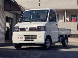 日産 クリッパートラック 660 DXエアコン付 ワンオーナ フロア5MT 3方開