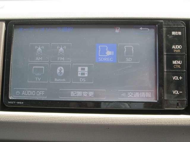フルセグTVが付いています!ナビゲーションと共にテレビの映像などもご覧になれます。