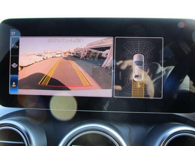 バックカメラ+コーナーセンサーで死角をカバー!
