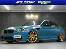 BMW M5 4.4 後期 VOSSEN22AW アクラボマフラ- KW車高調
