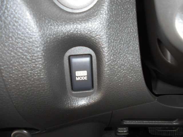エコスイッチで易しい運転を・・・。
