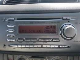 デジタル時計組込みCD一体AM/FMラジオ