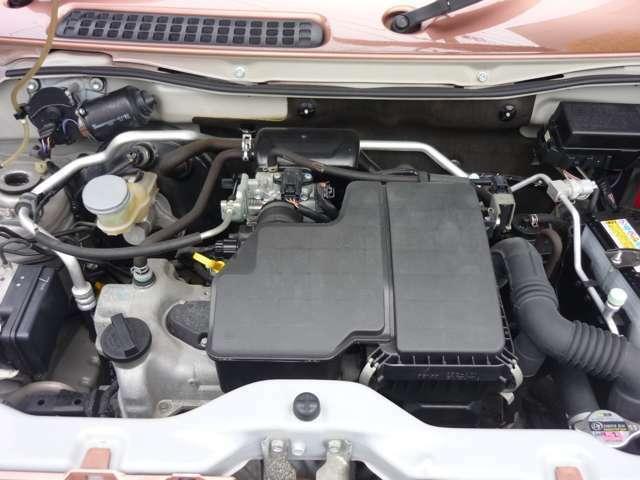 エンジン等の機関も良好です。安心の タイミングチェーン仕様 です。