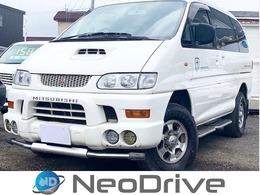 三菱 デリカスペースギア 2.8 シャモニー ハイルーフ ディーゼルターボ 4WD HDDナビ ディーゼルターボ 1NO登録