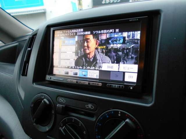 純正ナビ(MP310-A)ワンセグテレビ・ブルートゥース・DVD再生可です。