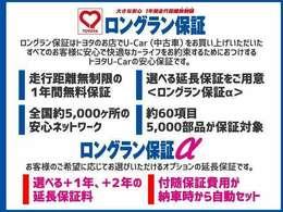 トヨタロングラン保証α全国のトヨタディーラーで修理対応しているので、遠方の方もご安心下さい