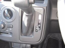 AT免許で走破性能と燃費性能を両立【オートギヤシフト(AGS)】。車体の軽い時にはDモードで2nd発進に!