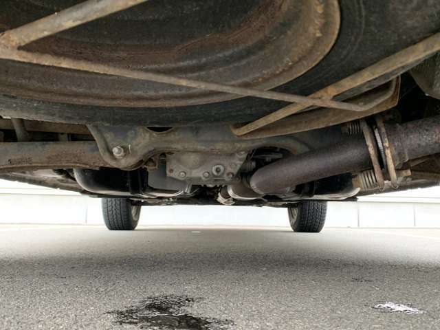 下回りはお車で見落としがちな重要箇所ですよね!東北地方では特にきになる項目ですよね!