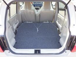 開口部の地上高が低いので、荷物も簡単に載せれます。