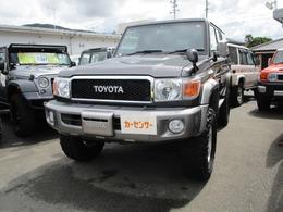 トヨタ ランドクルーザー70 4.0 4WD rリフトアップ HDDナビ ウインチ アルミ