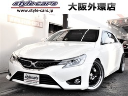トヨタ マークX 2.5 250G リラックスセレクション サンルーフ TANABE車高調 19インチ ナビTV
