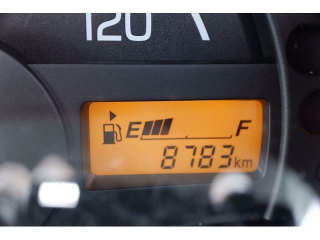 走行距離は8,783km!少ない走行距離がうれしいですね♪