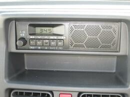 スピーカー内蔵式AM・FMラジオ