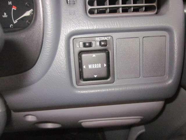 エアコン、パワステ、パワーウィンドー、可倒式電動ドアミラーが付いています。