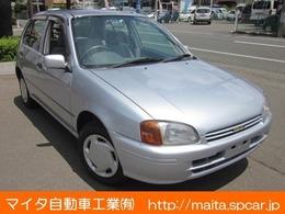 トヨタ スターレット 1.3 ルフレx 4WD 禁煙車/ワンオーナー/エアコン/5MT