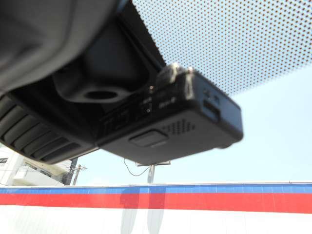 今や必需品のドライブレコーダーが装備されてます。もしものときに画像を録画してくれますので目撃者や証拠などになるので便利です。