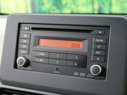 ●【純正CDオーディオ】装備!USB入力端子やAUX接続など音楽性能は十分です☆ナビ機能をスマホで代用される方にオススメです!各種ナビも取り揃えております!