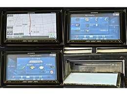 HDDナビゲーション(PIONEER製カロッツェリア サイバーナビAVIC-ZH07)+フルセグテレビ※Bluetoothオーディオ・ハンズフリー、対応/ミュージックサーバー・CD・DVD再生機能付