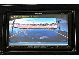 【ディーラー装着】バックビューカメラ(パーキングガイドライン表示)※リバースシフトに連動して画面表示します。駐車時の安全と安心に欠かせない装備です!
