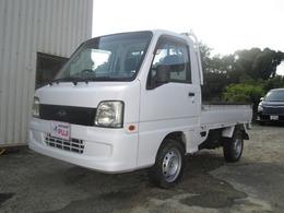 スバル サンバートラック 660 TC 三方開 4WD エアコン パワステ 5速マニュアル