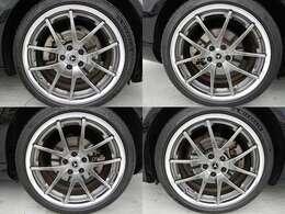 TWS Reizend WS05・鍛造2ピース19インチホイール+ミシュランパイロットスポーツ4装着済み!4本ともに綺麗な状態です