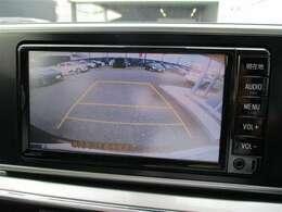 バックカメラも付いていて車庫入れもラクラク。