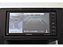 マルチアラウンドビューモニター(ナビ画面 ルームミラー表示)※バードアイビュー・ステアリング連動ガイドライン表示機能付き☆真上から見下ろしているような映像で駐車時の安全をサポートします♪